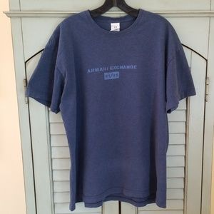 Armani Exchange Navy Blue Tshirt 2X